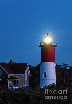 Nauset Lighthouse Dawn by John Greim