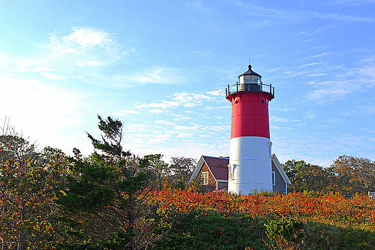 Nauset Lighthouse by Marilyn Holkham