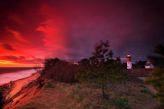 Nauset Lighthouse Sunrise by Dapixara Art