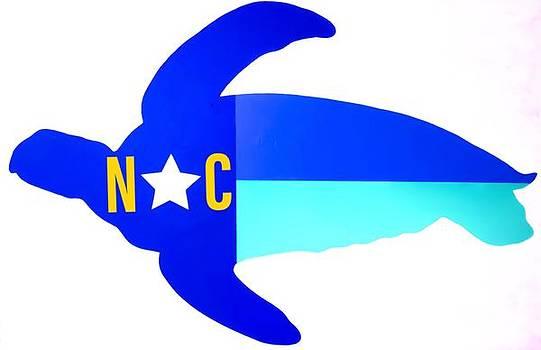 Nautical NC Seaturtle  by Barry Knauff