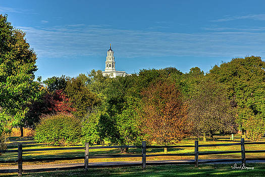 Nauvoo Temple II by David Simpson