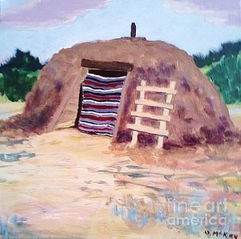 Navajo Hogan by Suzanne McKay