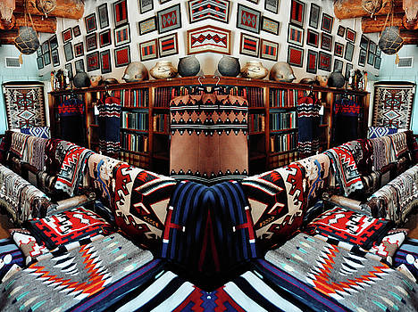 Navajo Rug Room Mirror by Kyle Hanson