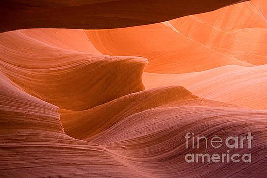 Navajos Lower Antelope Canyon by Julia Hiebaum