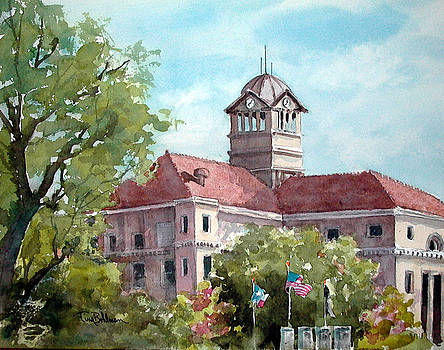 Navarro County Courthouse by Tina Bohlman