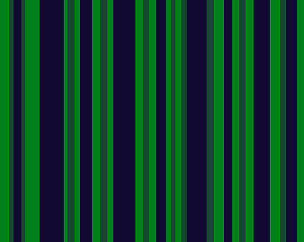 Navy Blue Green Stripes by BrightVibesDesign