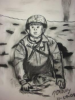 Navy Corpsman by John DeRoy