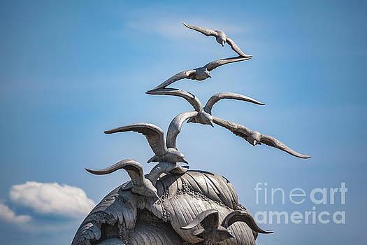 Navy-Merchant Marine Memorial by Leslie Banks