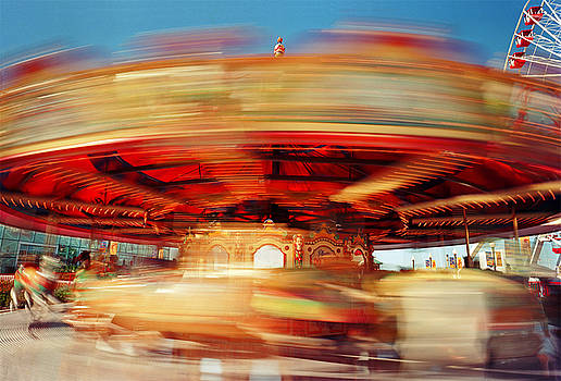 Navy Pier Carousel by James Rasmusson
