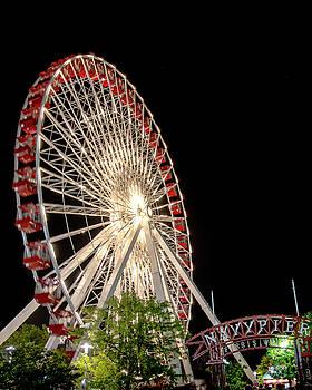 Navy Pier Centennial Wheel by Gej Jones