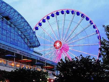 Navy Pier Ferris Wheel by Tephra Miriam