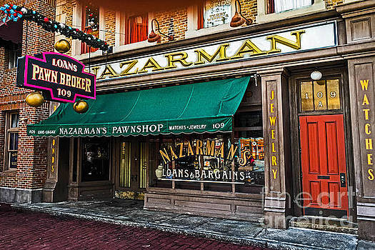 Nazerman The Pawnbroker by Gary Keesler