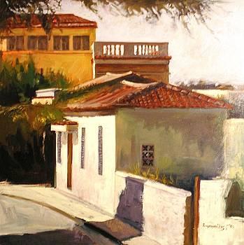 Near Acropolis - plaka by George Siaba