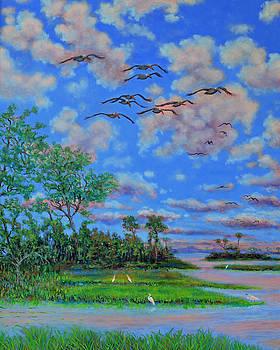 Near Botany Bay Plantation by Dwain Ray