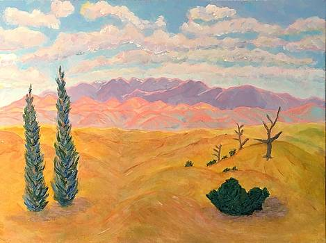 Near Galisteo, NM by Ann Laase Bailey