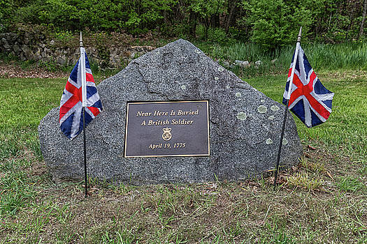 Near Here is Buried A British Soldier by Brian MacLean