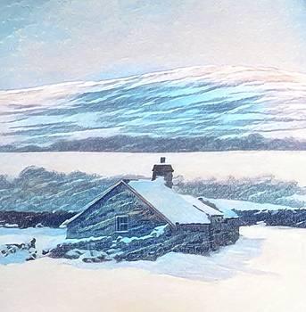 Near Pentrefoelas 2 by Alwyn Dempster Jones