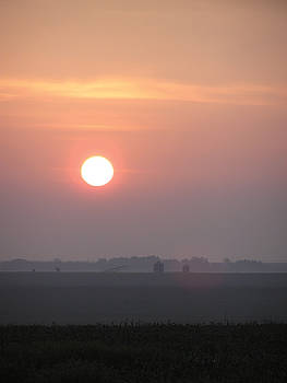 Nebraska Sunrise by Kelli Chrisman