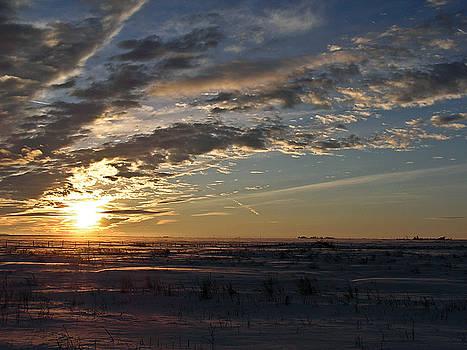 Nebraska Sunset by Kelli Chrisman