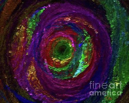 Tito - Nebula, Abstract Painting by Tito