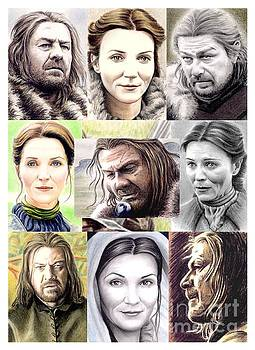 Ned and Catelyn Montage by Wu Wei