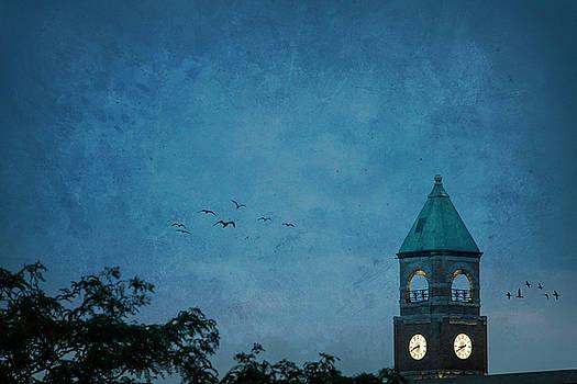 Neenah Clocktower by Joel Witmeyer
