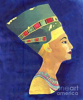 Nefertiti  by Eman Allam