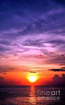 Negril Sunset by Matthew Naiden