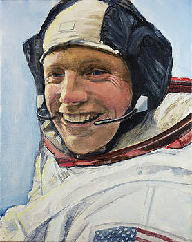 Neil Armstrong by Simon Kregar