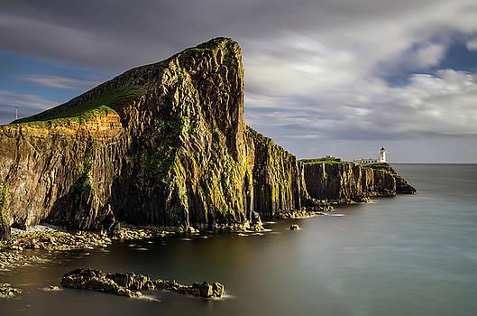 Neist Point coastline by Swen Stroop