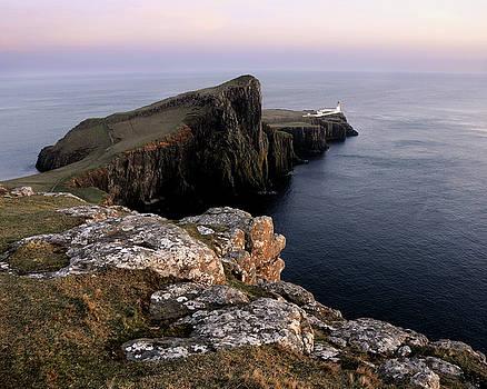 Neist Point Lighthouse, Isle of Skye, Scotland by David Stanley