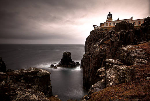 Neist Point Lighthouse by Roddy Atkinson