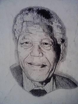 Nelson Mandela by Demetrius Washington