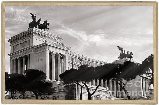 Neoclassical architecture in Rome by Stefano Senise