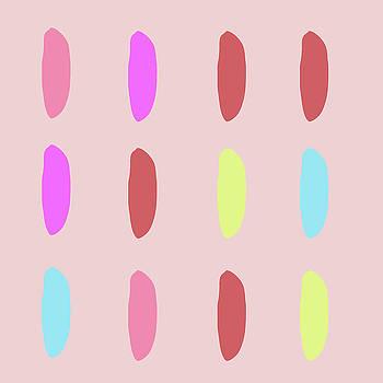 Neon Blob Series 3 by Cortney Herron