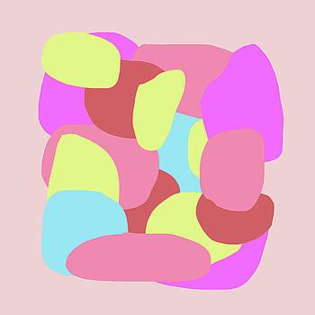 Neon Blob Series 4 by Cortney Herron