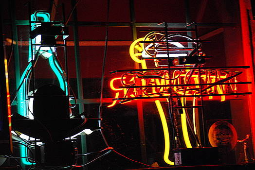 Neon Lights by Peter  McIntosh