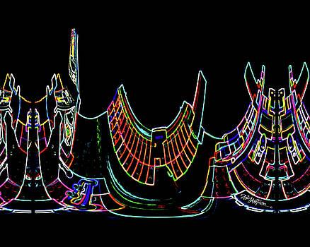 Neon Saddle #177 by Barbara Tristan