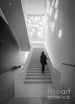 Neon Staircase by Felix Choo