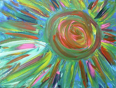 Neon Sun by Derick Van Ness