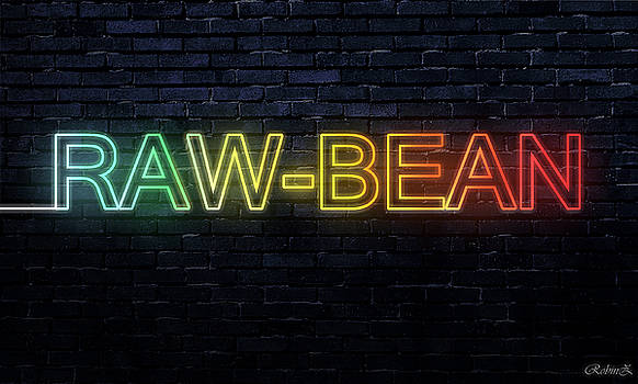 Neon Text effect by Robin Zhuo
