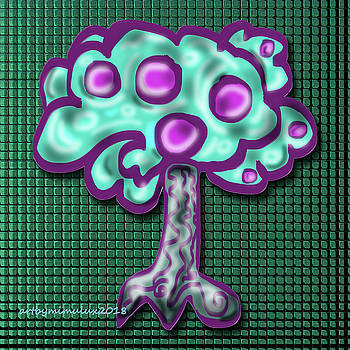 Neon Tree by Mimulux patricia No
