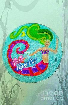 Pamela Smale Williams - NEON UNDERSEA INVITATION GIRLS NIGHT OUT