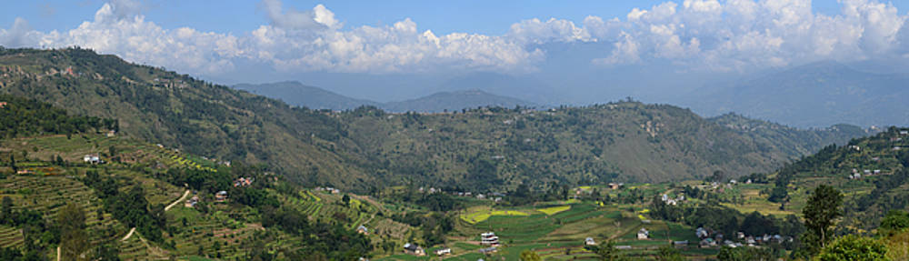 Nepal Countryside by Atul Daimari