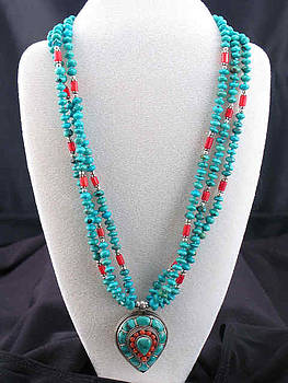 Nepalese pendent Necklace by Sarupa  Shrestha