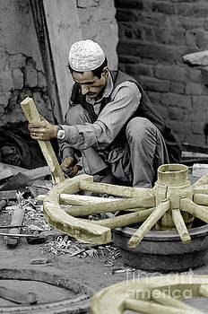Craig Lovell - Nepali Wood Carver