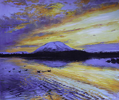 Nephin Reflections by Conor McGuire