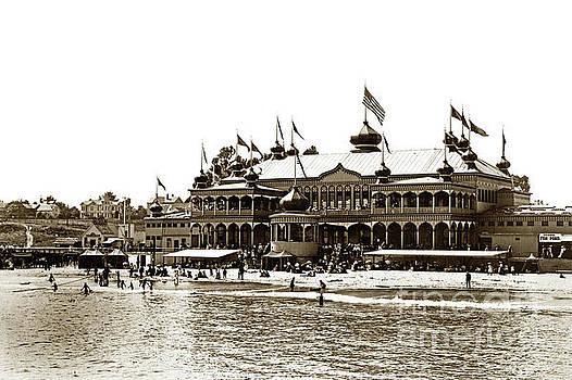 Neptune Casino and Onion-Domed Bandstand, Santa Cruz Beach Circa 1904 by California Views Mr Pat Hathaway Archives
