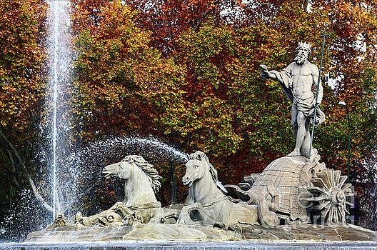 James Brunker - Neptune Fountain Paseo del Prado Madrid