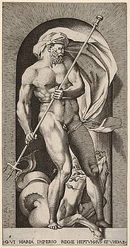 Giovanni Jacopo Caraglio - Neptune